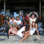 Black Marlin Diving Indonesia Crew and Guests