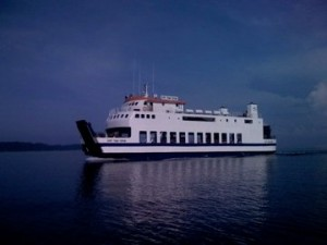 Ferry Boat from Gorontalo to the Togean Islands-Sulawesi Indonesia
